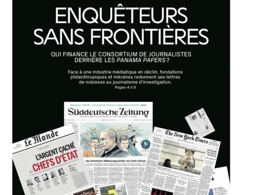 Panama Papers : la consécration des enquêteurs sans frontières (La Cité)