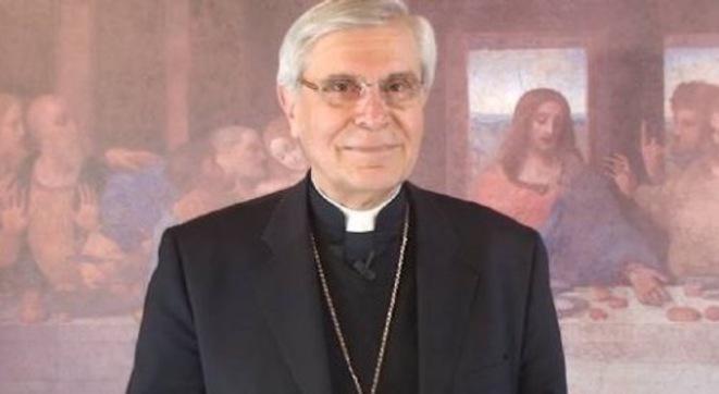 Mgr di Falco © capture d'écran d'une de ses chroniques vidéo pour lepoint.fr