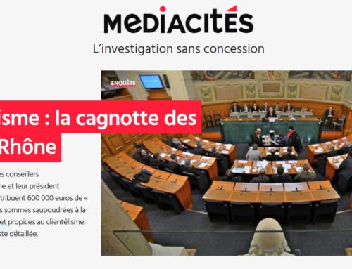 Clientélisme : la cagnotte des élus du Rhône (Mediacités)