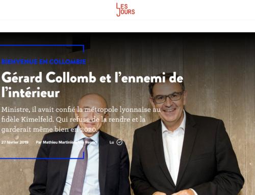 Gérard Collomb et l'ennemi de l'intérieur (Les Jours)
