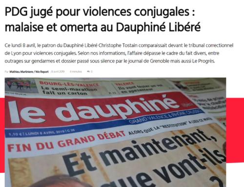PDG jugé pour violences conjugales : malaise et omerta au Dauphiné Libéré (Mediacités)