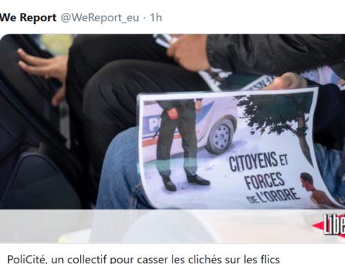 PoliCité, un collectif pour casser les clichés sur les flics (Libération)