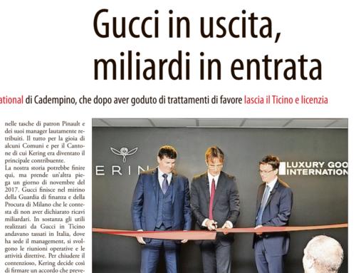 Gucci in uscita, miliardi in entrata (AREA)