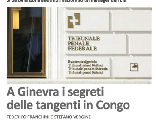 A Ginevra i segreti delle tangenti in Congo (Il Caffé)