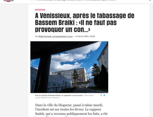 A Vénissieux, après le tabassage de Bassem Braïki : «Il ne faut pas provoquer un con…» (Libération)