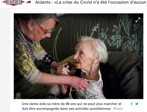 Aidants : «La crise du Covid n'a été l'occasion d'aucun remerciement de la part de l'Etat» (Libération)