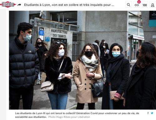 Etudiants à Lyon, «on est en colère et très inquiets pour notre avenir» (Libération)