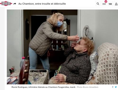 Au Chambon, entre trouille et débrouille  (Libération)