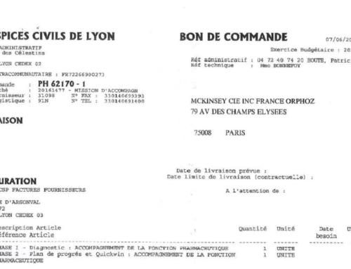 Hospices civils de Lyon : les très chers et contestés remèdes du cabinet McKinsey (Mediacités)