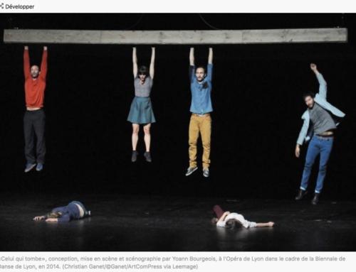Yoann Bourgeois, le je du cirque (Libération)